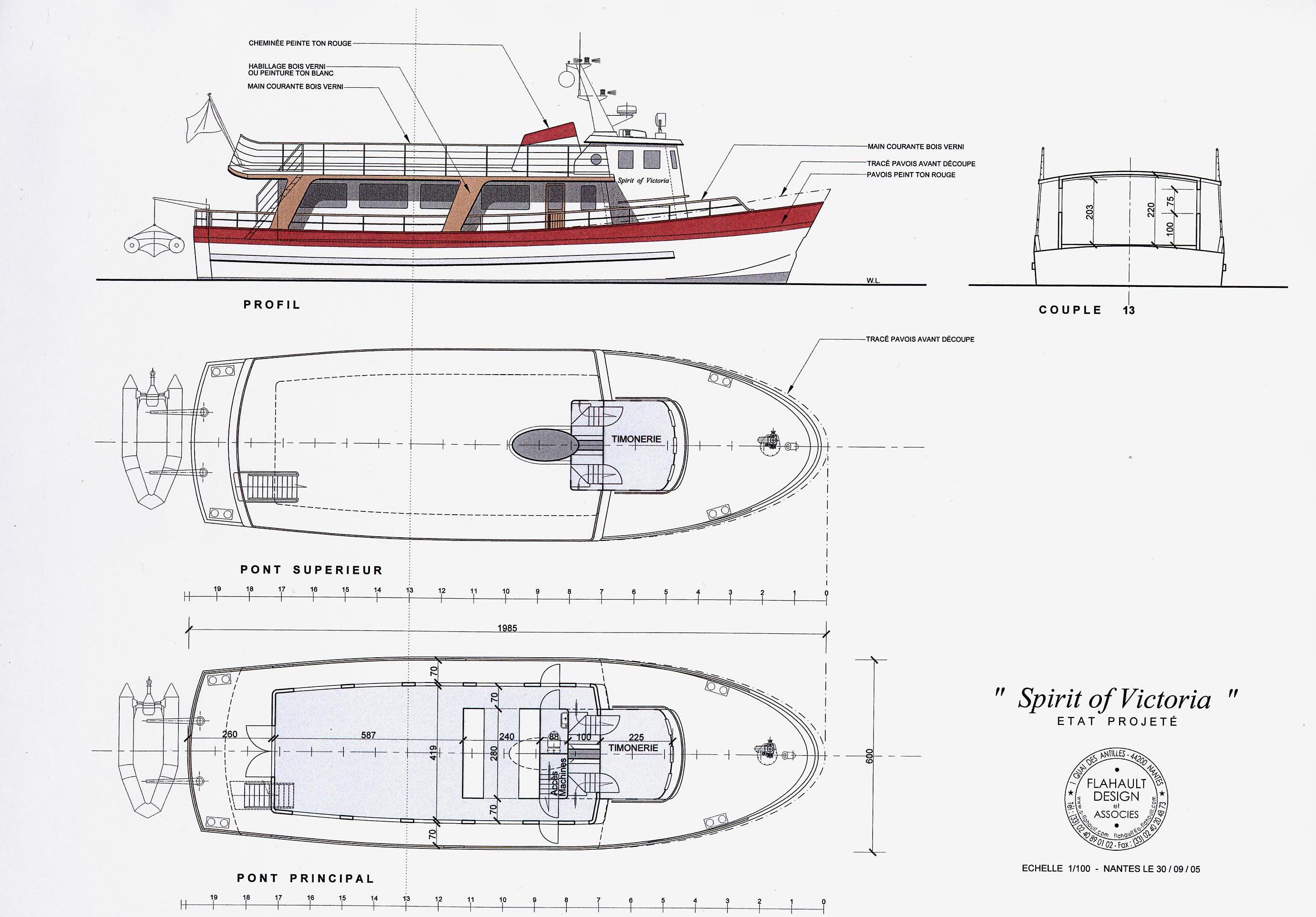 Spirit of Victoria - Flahault Design