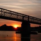 Coucher de soleil en Loire